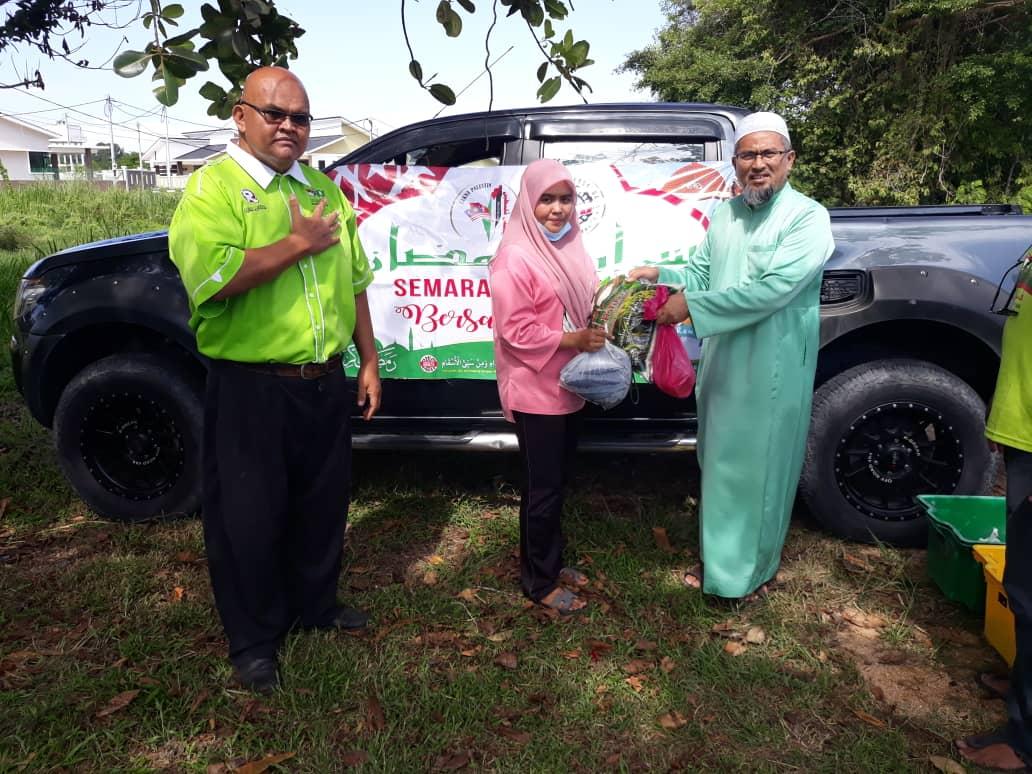 Semarak Ramadhan Bersama Asnaf di Bunut Payong dan Kok Lanas